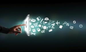 Une tablette lance une série d'idées